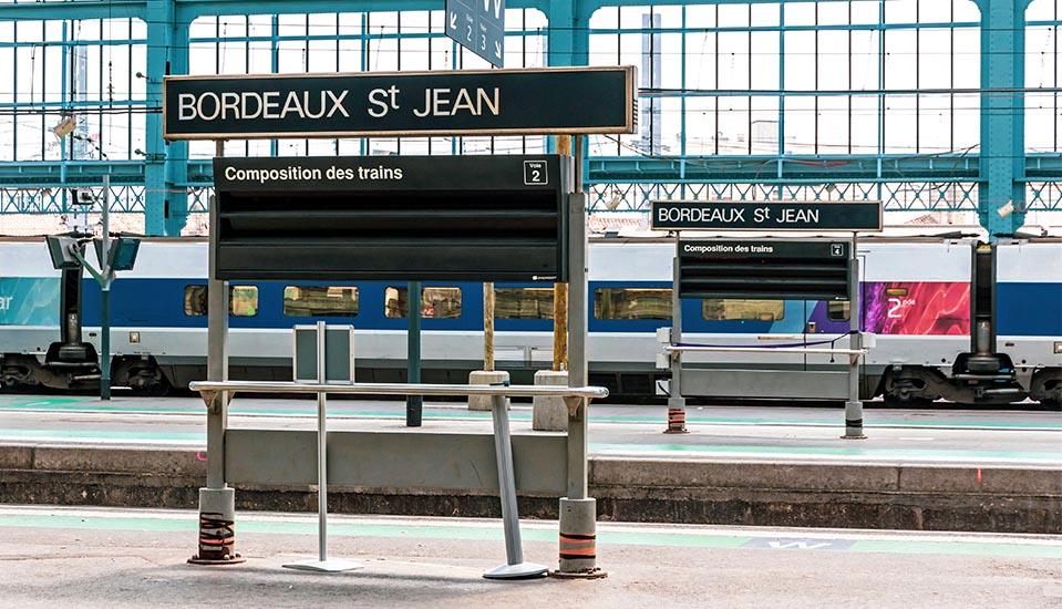 Bordeaux St jean Vtc